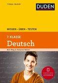 Wissen - Üben - Testen: Deutsch 7. Klasse (Mängelexemplar)