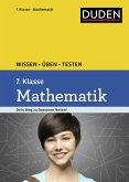 Wissen - Üben - Testen: Mathematik 7. Klasse (Mängelexemplar)