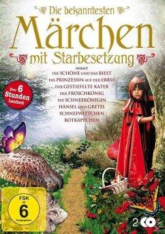 Die bekanntesten Märchen mit Starbesetzung DVD-Box