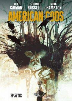American Gods 1 - Gaiman, Neil; Russel, P. Craig