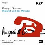 Maigret und der Minister / Kommissar Maigret Bd.46 (MP3-Download)