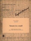 Sonate a-Moll, Flöte (oder Oboe, oder Violine) und Gitarre