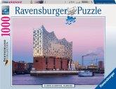 Ravensburger 19784 - Elbphilharmonie Hamburg, 1000 Teile Puzzle