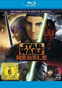 STAR WARS REBELS - Die komplette dritte Staffel BLU-RAY Box