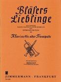 Bläsers Lieblinge, Klarinette (Trompete), 2. Stimme