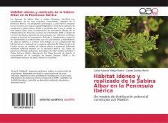 Hábitat idóneo y realizado de la Sabina Albar en la Península Ibérica