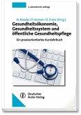 Gesundheitsökonomie, Gesundheitssystem und öffentliche Gesundheitspflege (eBook, PDF)