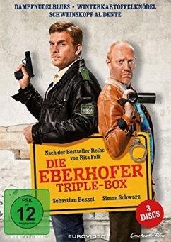 Die Eberhofer-Triple Box (3 DVDs) - Bezzel,Sebastian/Schwarz,Simon