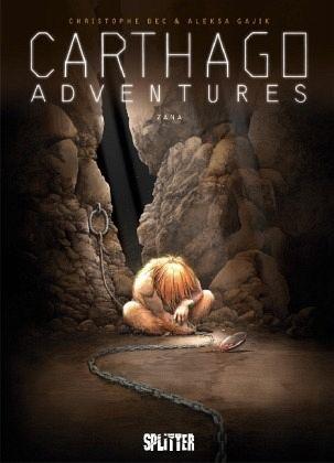 Buch-Reihe Carthago Adventures