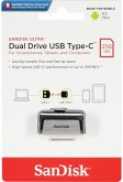 SanDisk Ultra Dual Drive 256GB Type-CTM USB SDDDC2-256G-G46