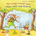 Mein lustiger Schieber-Spaß. Hase, Nest und Osterei (Mängelexemplar)