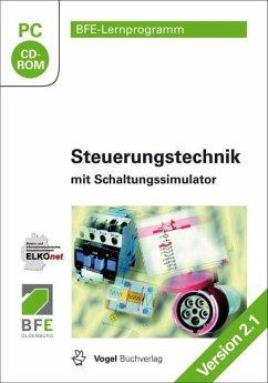 Steuerungstechnik mit Schaltungssimulator, CD-ROM