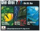 Die drei ??? - 3er Box, 3 Audio-CDs