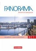 Panorama B1: Gesamtband - Übungsbuch DaZ mit Audio-CDs