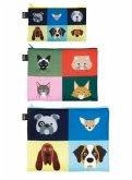 LOQI Zip Pocket STEPHEN CHEETHAM Dogs & Cats