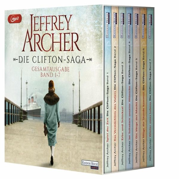 Die Clifton-Saga, 14 MP3-CDs - Archer, Jeffrey