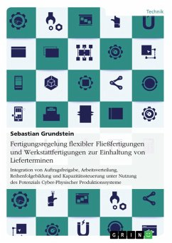 Fertigungsregelung flexibler Fließfertigungen und Werkstattfertigungen zur Einhaltung von Lieferterminen (eBook, PDF)