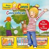 01: Conni zieht um / Conni bekommt eine Katze / Conni macht das Seepferdchen / Conni geht zelten (Vier Hörspiele zur TV-Serie) (MP3-Download)
