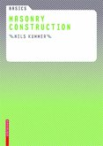Basics Masonry Construction (eBook, ePUB)