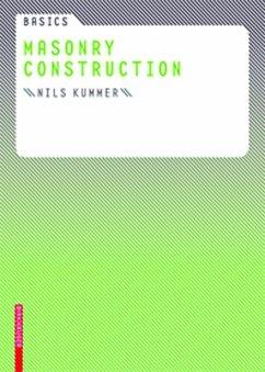 Basics Masonry Construction (eBook, ePUB) - Kummer, Nils