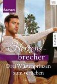 Drei Wüstenprinzen zum Verlieben / Baccara Herzensbrecher Bd.1 (eBook, ePUB)
