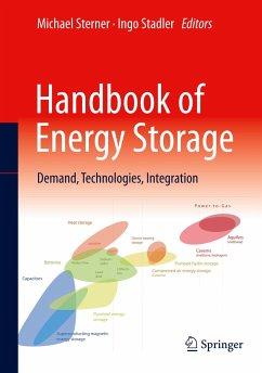Handbook of Energy Storage - Sterner, Michael; Stadler, Ingo