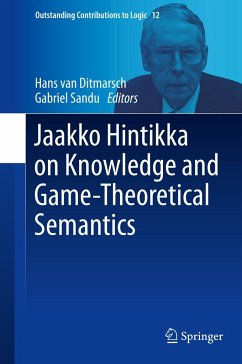 Jaakko Hintikka on Knowledge and Game-Theoretical Semantics