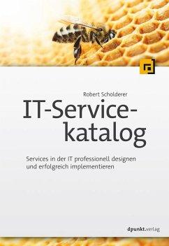 IT-Servicekatalog (eBook, PDF) - Scholderer, Robert