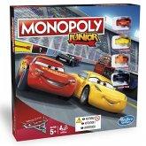 Hasbro C1343100 - Monopoly Junior Cars 3, Kinderspiel, Brettspiel