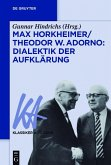 Max Horkheimer/Theodor W. Adorno: Dialektik der Aufklärung (eBook, ePUB)