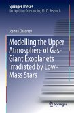 Modelling the Upper Atmosphere of Gas-giant Exoplanets Irradiated by Low-mass Stars