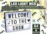 """Leuchtschild """"Event"""", mit Buchstaben und Zahlen zur individuellen Gestaltung"""