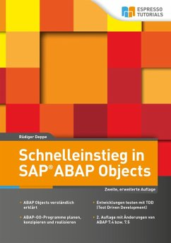 Schnelleinstieg in SAP ABAP Objects (eBook, ePUB)