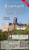 KKV Rad- und Wanderkarte Eisenach - Bad Liebenstein - Ruhla - Tabarz