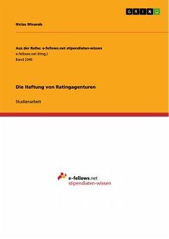 Die Haftung von Ratingagenturen (eBook, PDF)