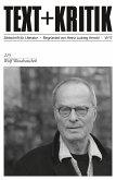 TEXT + KRITIK 215 - Wolf Wondratschek (eBook, PDF)