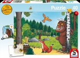 Schmidt 56266 - Puzzle, Der Grüffelo im Wald, Kinderpuzzle, 40 Teile, inclusive Sportbeutel