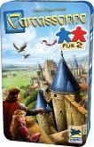 Schmidt 51420 - Carcassonne® für 2, Familienspiel, Brettspiel, Reisespiel