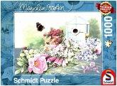 Schmidt 59570 - Puzzle, Sommer Residenz, Marjolein Bastin, 1000 Teile
