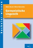 Germanistische Linguistik (eBook, PDF)