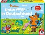 Schmidt 40578 - Die Maus unterwegs in Deutschland, Familienspiel, Kinderspiel, Reisespiel