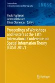 Proceedings of Workshops and Posters at the 13th International Conference on Spatial Information Theory (COSIT 2017)
