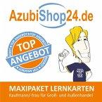 AzubiShop24.de Lernkarten Kaufmann / Kauffrau im Groß- und Außenhandel. Maxi-Paket