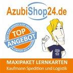 AzubiShop24.de Lernkarten Kaufmann / Kauffrau für Spedition und Logistik. Maxi-Paket