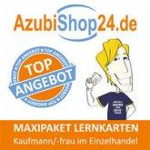 AzubiShop24.de Lernkarten Kaufmann / Kauffrau im Einzelhandel. Maxi-Paket