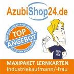 AzubiShop24.de Lernkarten Industriekaufmann / Industriekauffrau. Maxi-Paket