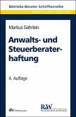 Anwalts- und Steuerberaterhaftung (eBook, PDF)