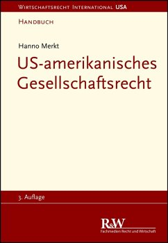 US-amerikanisches Gesellschaftsrecht (eBook, PDF) - Merkt, Hanno