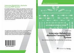 Interrater-Reliabilität, deutsche Fassung PRPP-System