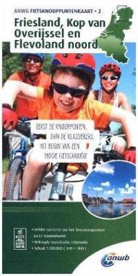 ANWB Fietsknooppuntenkaart Friesland, Kop van O...